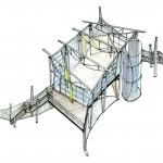 Common Housing Interior - Open Plan